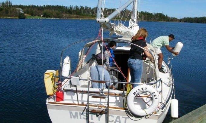 26' Cruising Charter in Saint Peter's, Nova Scotia