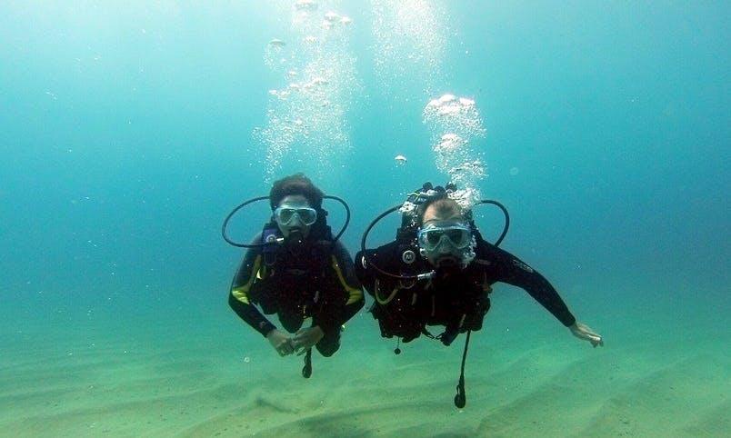 Discover Scuba Diving in Tossa de Mar