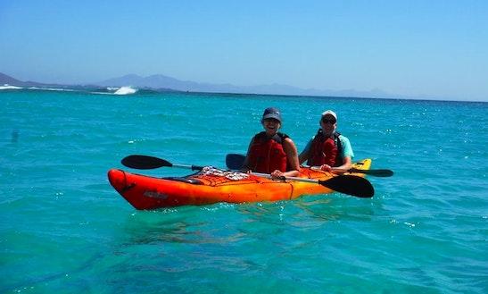 Double Kayak & Snorkeling Excursions In Corralejo