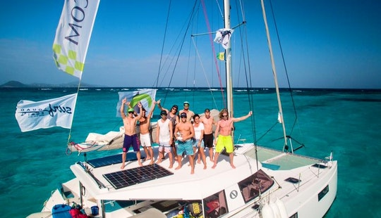 Kiteboarding Catamaran Cruise In The Caribbean, Croatia And Greece