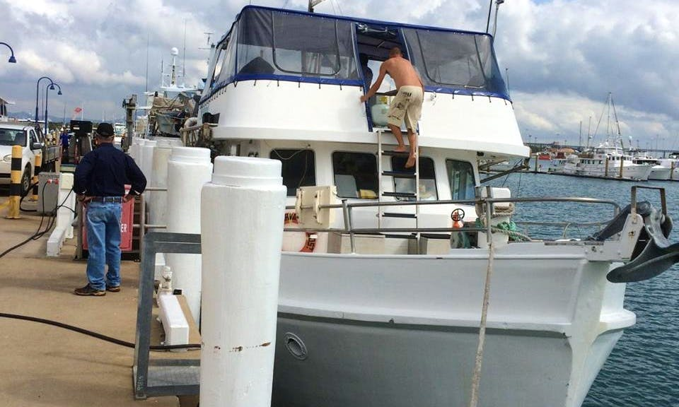 """60' """"Norval"""" Trawler Fishing Charters in Shute Harbour, Australia"""