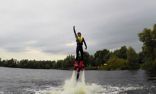 Discover The Flyboard Experience In Amsterdam, Netherlands