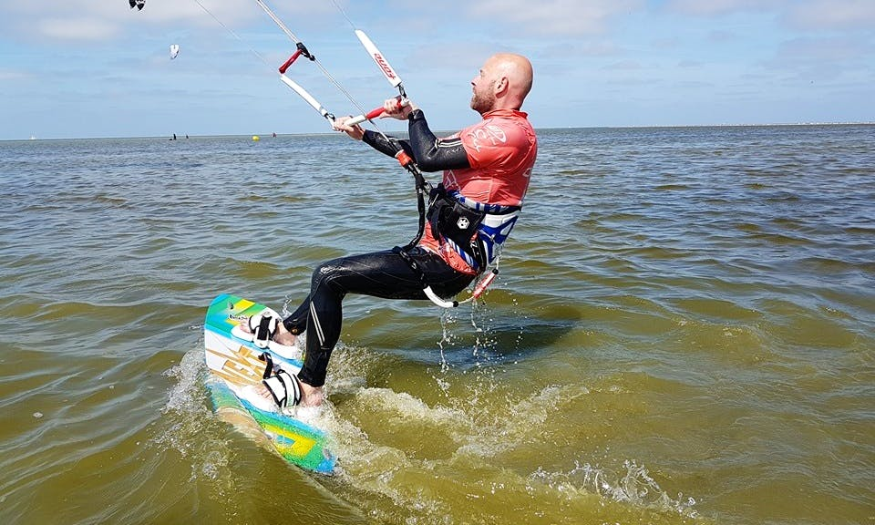 Kiteboarding Courses in Workum, Netherlands