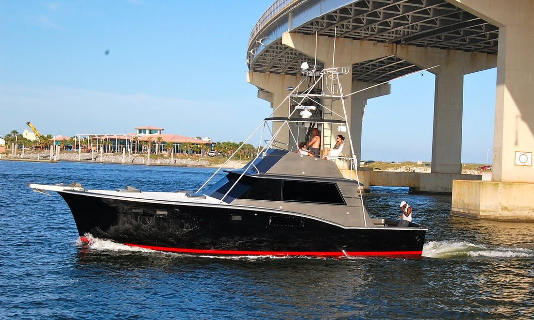 "45' ""Salty Dog"" Hatteras Sportfisher In Alabama, United States"
