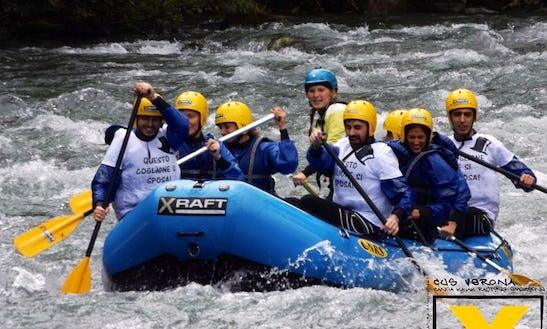 Rafting Trips In Mezzana