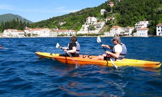 Double Kayak Tours & Rental In Herceg - Novi