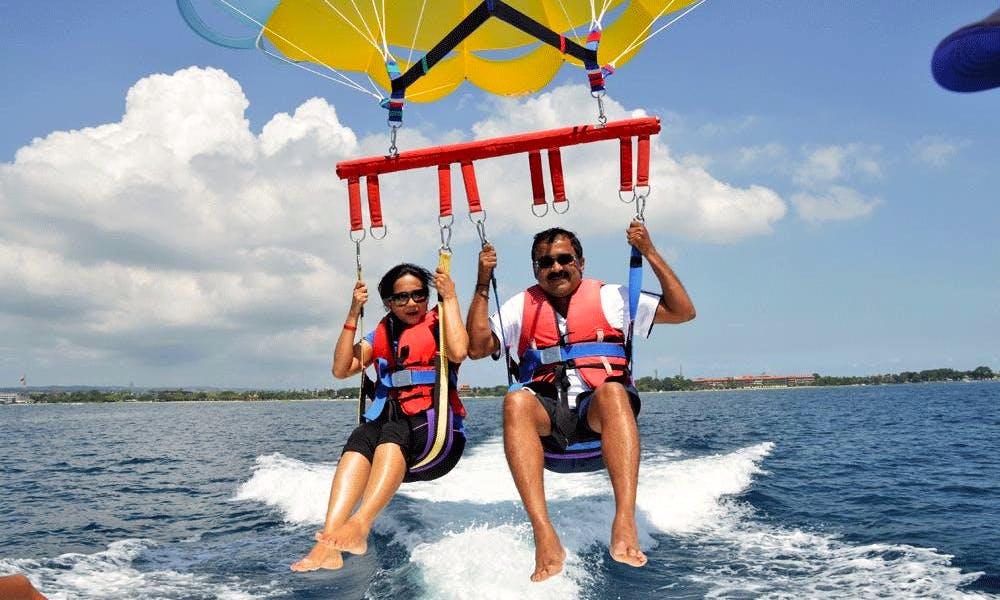 Parasailing Adventure  in Kuta Selatan, Bali