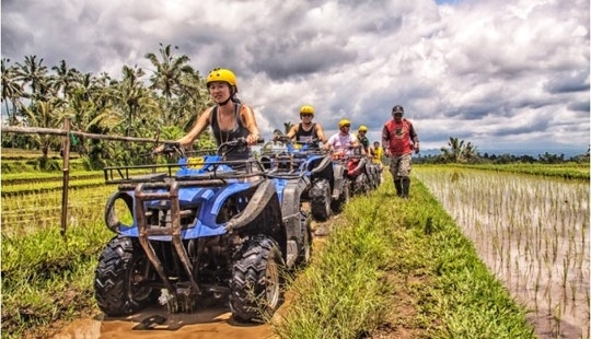 Atv / Quad Bike Tour In Ubud