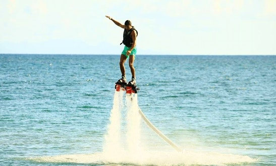 Flyboarding In Sainte-luce, Martinique
