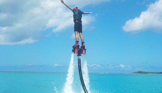 Flyboarding In Port-louis, Guadeloupe