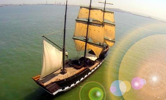 Charter 124ft Phantom Schooner In Cartagena, Colombia