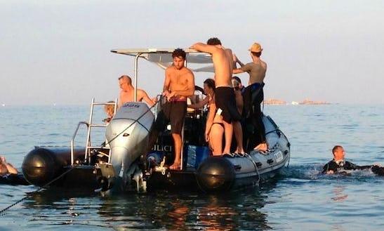 Rib Diving Trips In Bonifacio, France