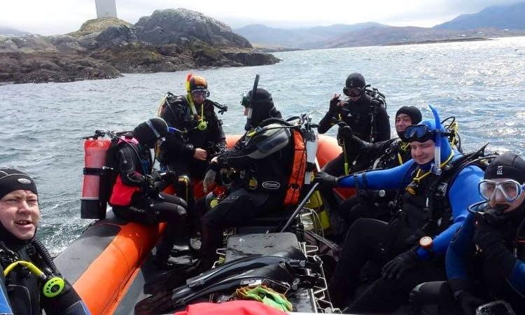 RIB Diving Trips in Navan, Ireland