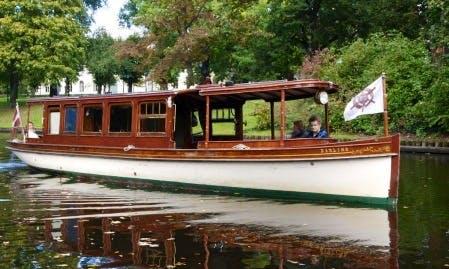 """Darling"" Boat Sightseeing Tour in Rīga, Latvia"