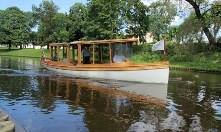 """Maria"" Boat Sightseeing Tour in Rīga, Latvia"
