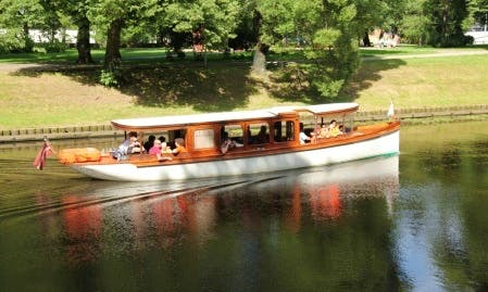 """Lyme"" Boat Sightseeing Tour in Rīga, Latvia"