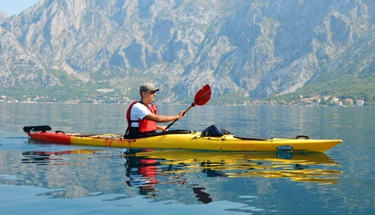 Sea Kayaking Tour For 4 Brave People At Kotor Bay In Montenegro