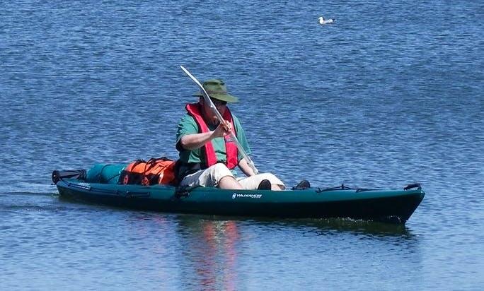Single Kayak rental in Närpes, Finland