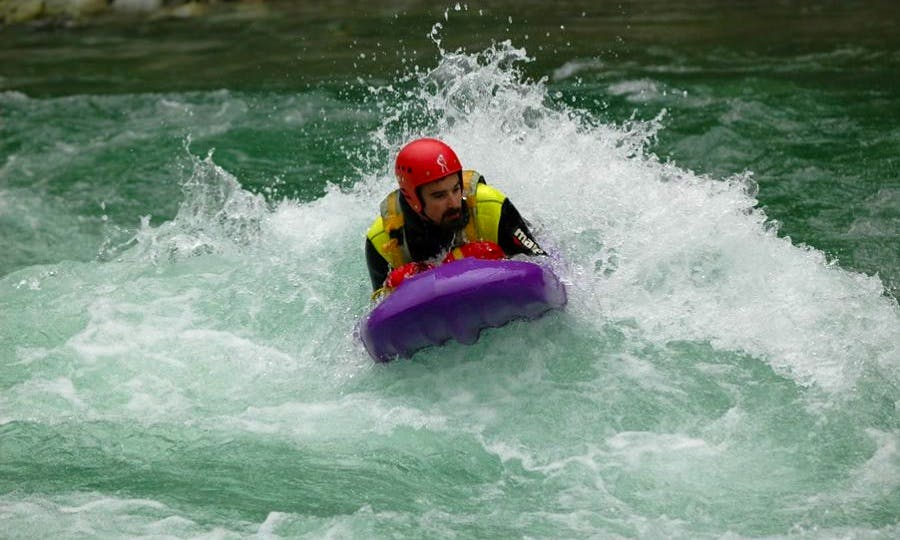 Exciting Hydrospeed Adventure on Isel River in Austria!