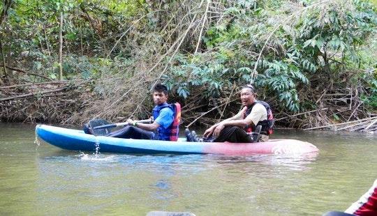 Whitewater Kayak Tours In Malaysia