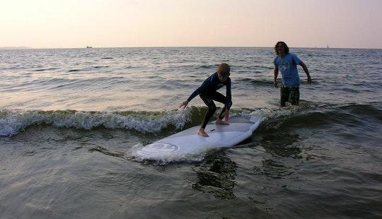 Surf Lessons And Rental In Świnoujście, Poland