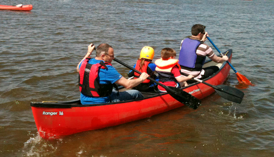 (4 Pax) Canoeing Hire In Common Moor, United Kingdom