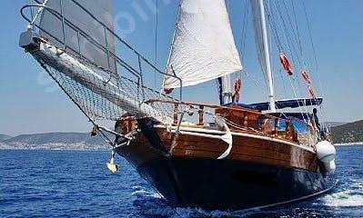63' Sailing Gulet Mert Bey-1 in Izmir, Turkey