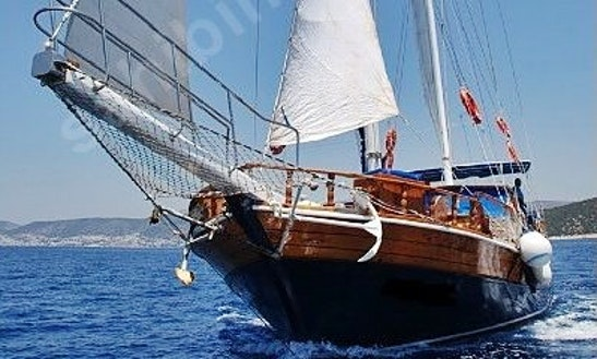 63' Sailing Gulet Mert Bey-1 In Izmir