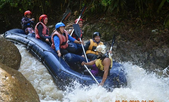 White Water Rafting In Tanjong Malim