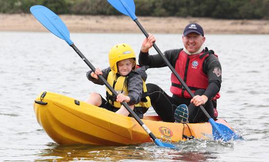 Double Kayaking Hire In Common Moor