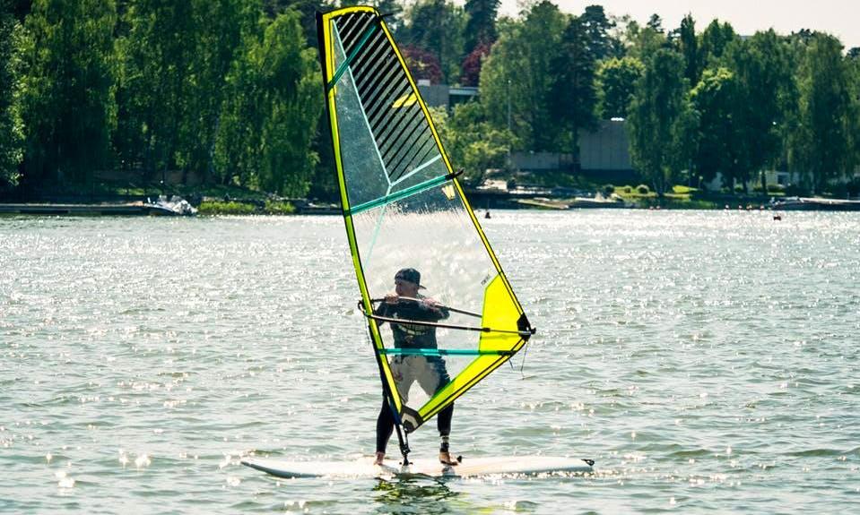 Windsurfing Lessons in Helsinki, Finland