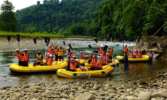 White Water Rafting In Kiulu, Tuaran