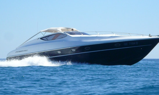 Cruise On This Primatist G55 Motor Yacht Rental In Arzachena, Italy
