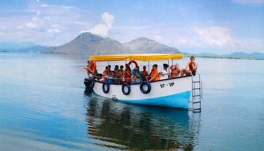Boat For Group Or Private Cruises In Bar, Montenegro With Swimming And Snacks