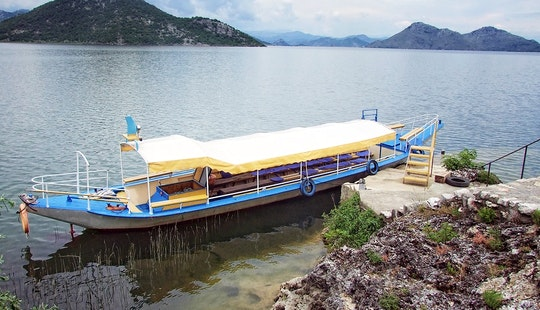 Boat For Group Cruising Around Bar, Montenegro. Great For Private Events, Up To 50 People