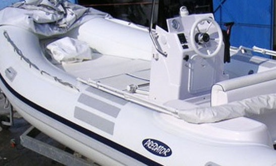 Book This 17' Predator Rib Rental In Carloforte, Sardinia