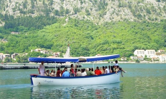 Passenger Boat Rental In Baošići, Montenegro For Tour And Private Events