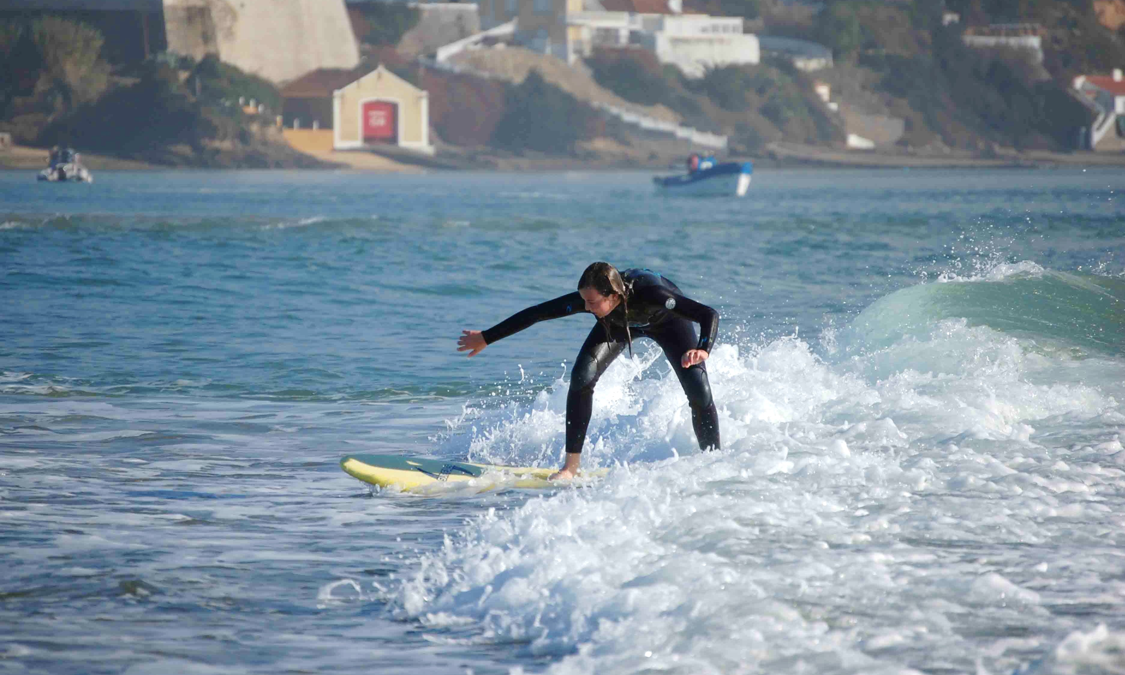 Learn to Surf - Vila Nova de Milfontes, Portugal