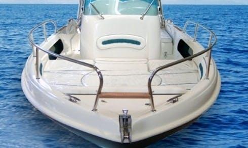Santa Fe Power Boat Rental in Palau