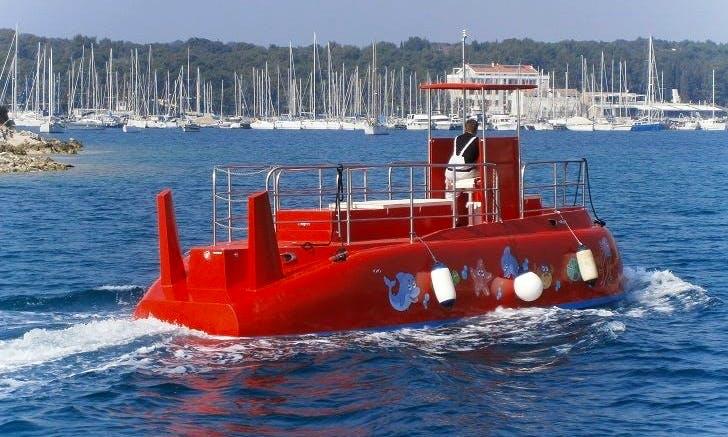 Submarine Tour in Kotor, Montenegro