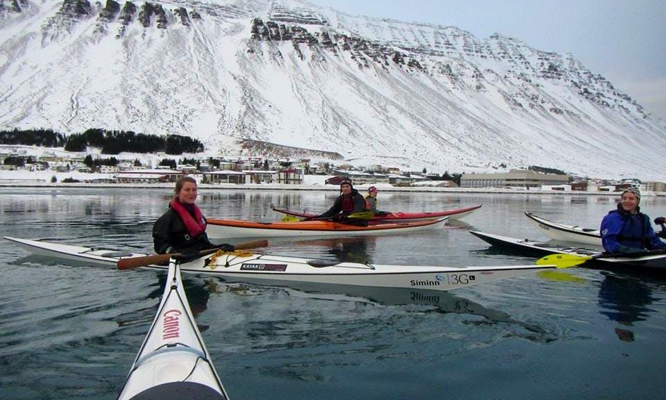 Single Kayaking Trips in Sauðárkrókur, Iceland