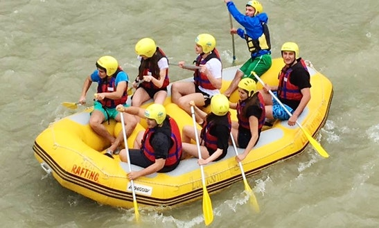 Memorable Rafting Adventure In Rize, Turkey