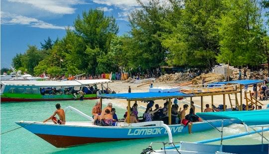 Boat Tour In Gili Trawangan, Indonesia