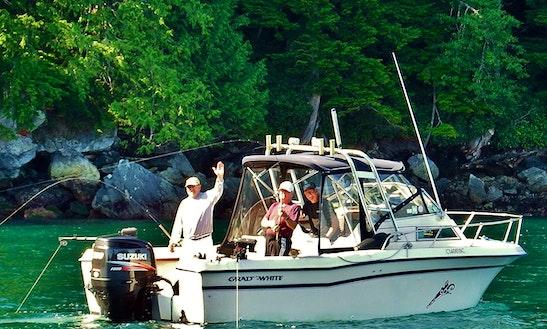 Grady White Fishing Trip Boat In Columbia