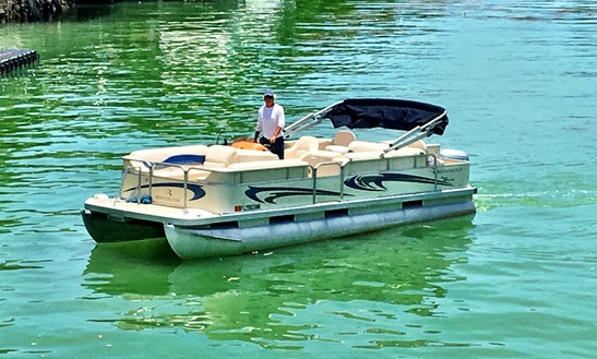 Rent The 23' Bennington  Pontoon In North Bay Village, Florida