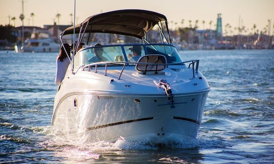 Charter 27' Sea Ray Motor Yacht Rental In Newport Beach, California