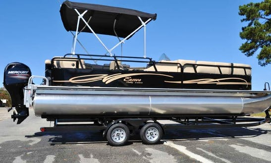 24ft Encore Bentley Pontoon Rental In Destin, Florida