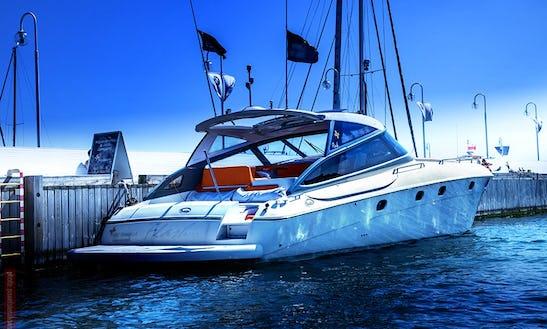 Motor Yacht Baia 48 Flash Cruising In Gdynia, Poland