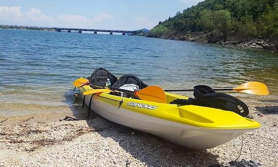 Single Kayak Adventures Trips In Lake Skadar, Montenegro
