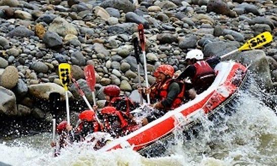 Rafting Tour In Bawang, Indonesia